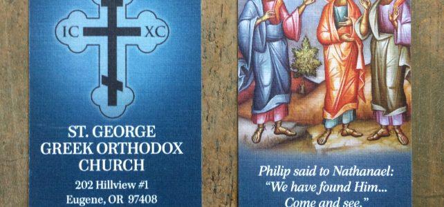 Parish Business Cards